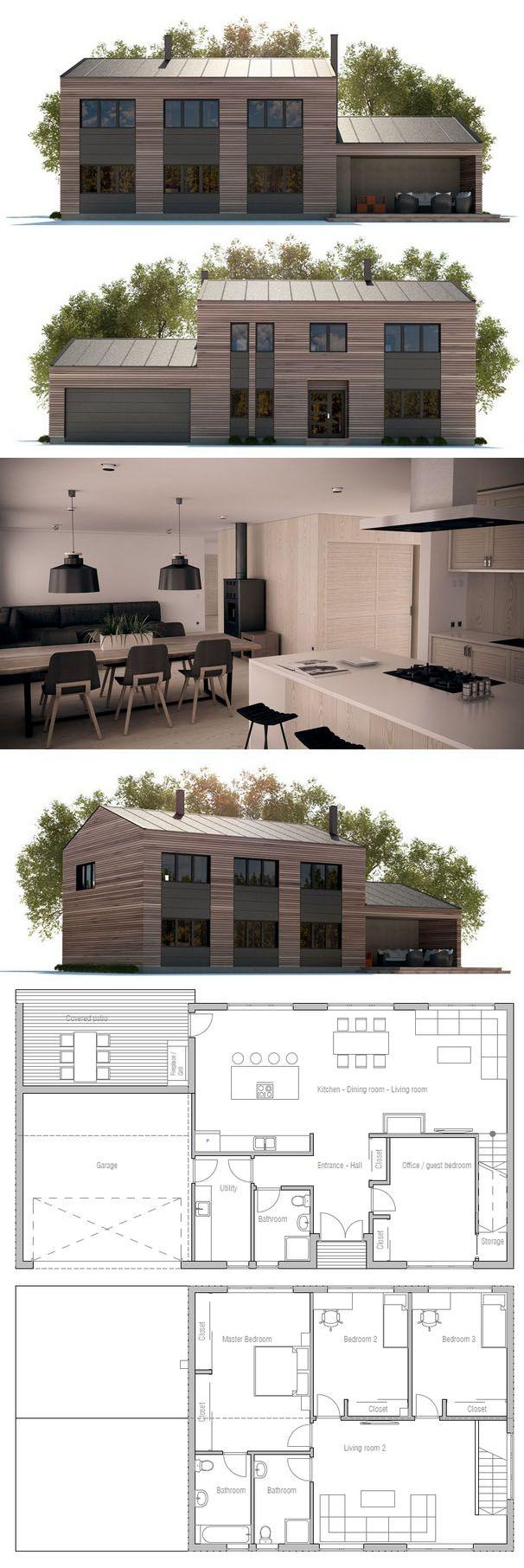 Kleines haus außendesign casa pequena  home ideas  pinterest  haus haus design und haus