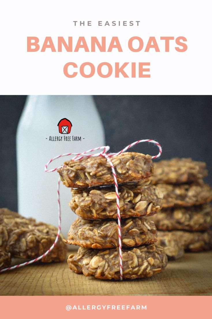 Banana Oatmeal Cookies Recipe Banana oat cookies, Oat
