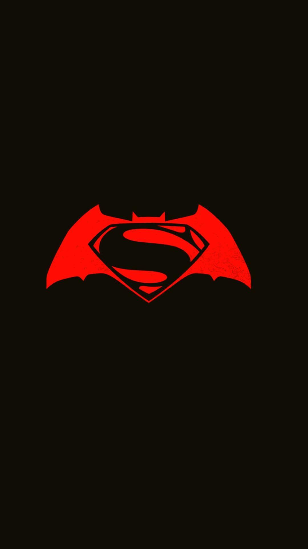 Mobile Full Hd Minimal Wallpaper 1080x1920 Batman Wallpaper Batman And Superman Superman Wallpaper Logo