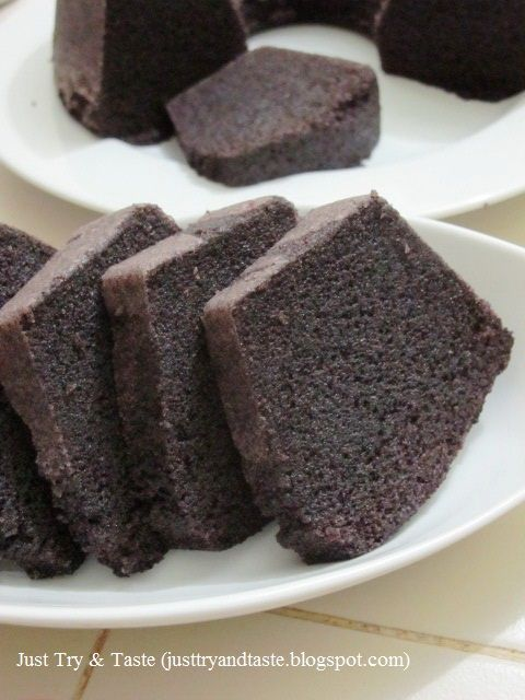 Resep Cake Kukus Ketan Hitam Makanan Makanan Manis Aneka Kue