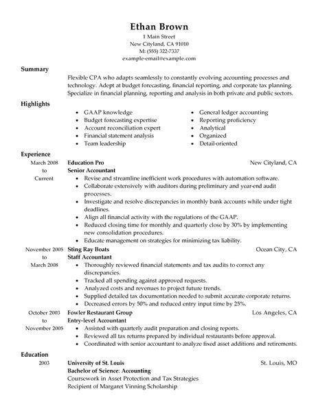 Resume Examples Big 4 Accounting Accounting Examples Resume Resumeexamples Good Resume Examples Accountant Resume Professional Resume Samples