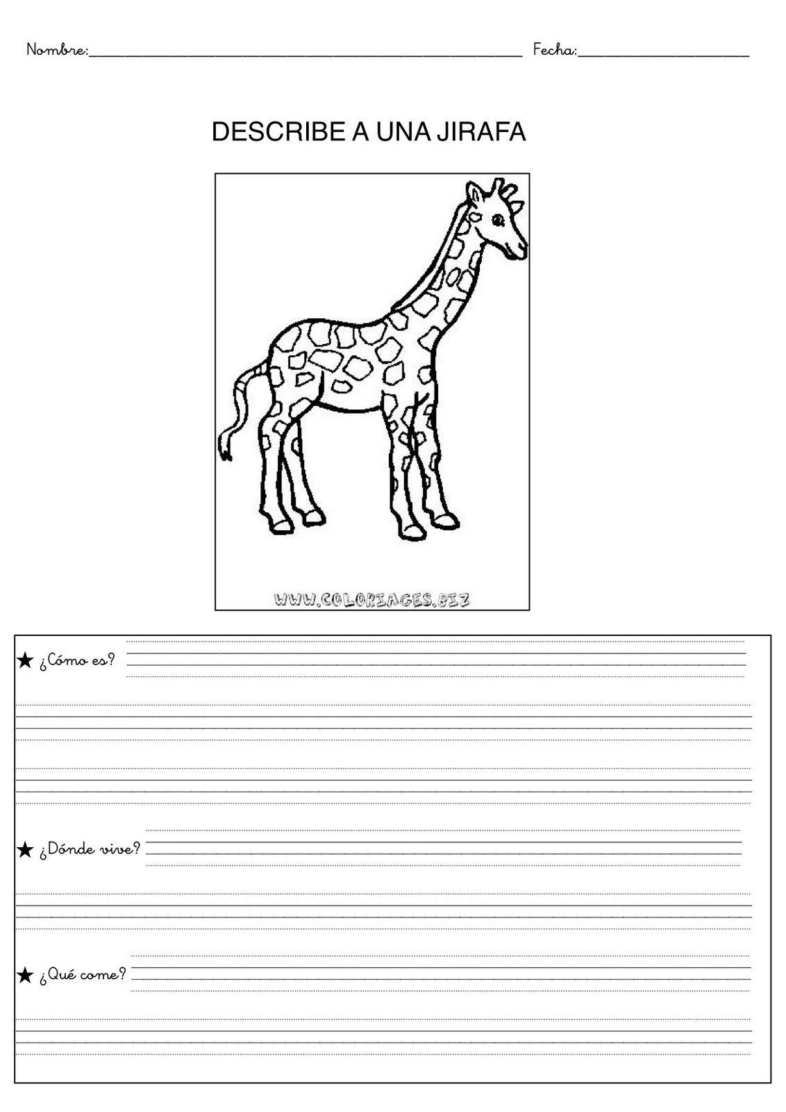 Resultado de imagen de descripcion de un animal