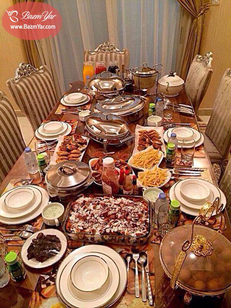 سفره افطاری زیبا در ترکیه ارسالی کاربران Iftar Ramadan Recipes Iftar Breakfast Table Setting