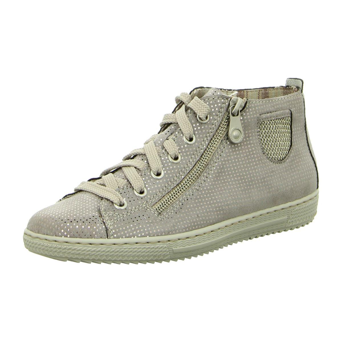 NEU: Rieker Sneaker Schnürer L9402 42 grau | Schuhe