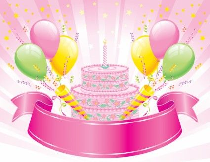 Birthday Cake Images Vektor ~ Birthday cake vector happy birthday pictures