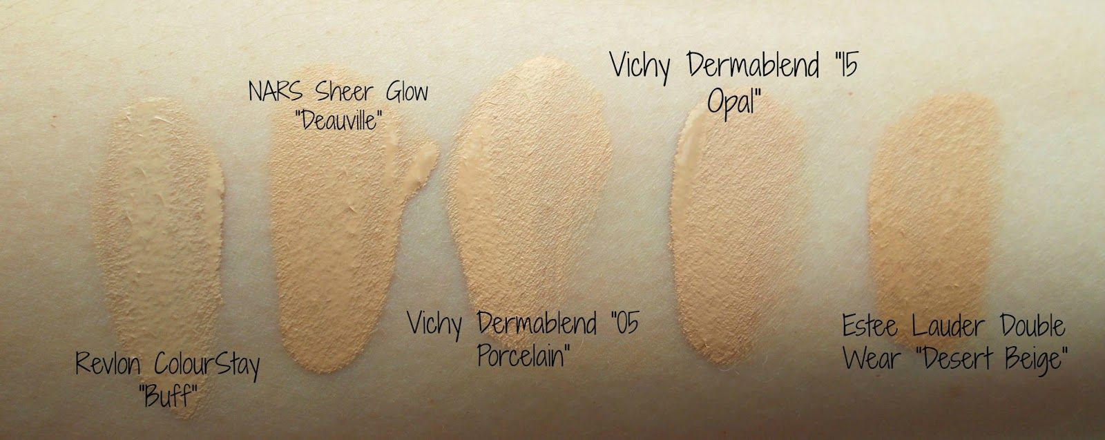 Danielle S Beauty Blog Vichy Dermablend Fluid Corrective Foundation And Setting Powder Review Dermablend Vichy Setting Powder