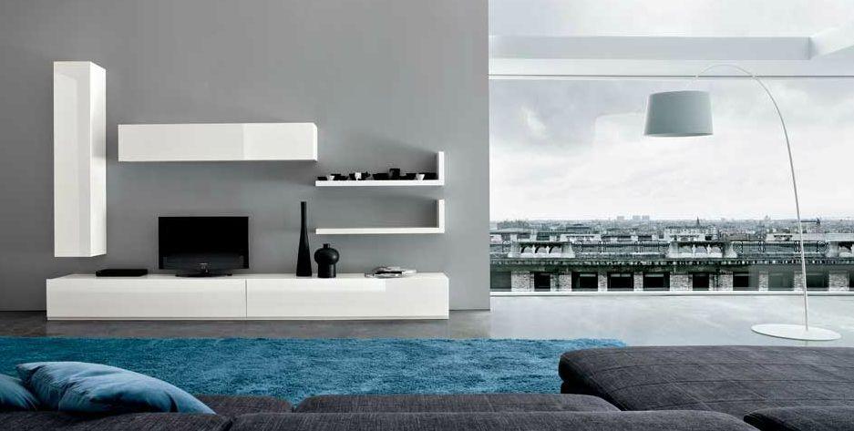 Minimalist Living Room. Custom Processing Combination Living Room ...