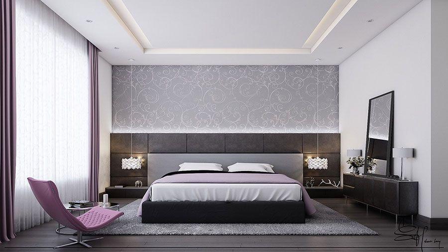 Camere Da Letto Giovani : Camera da letto grigia idee fotografiche per arredi da sogno