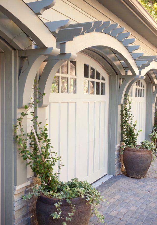 Stylish Garage Doors Omg Lifestyle Blog Garage Door Design Garage Pergola Pergola