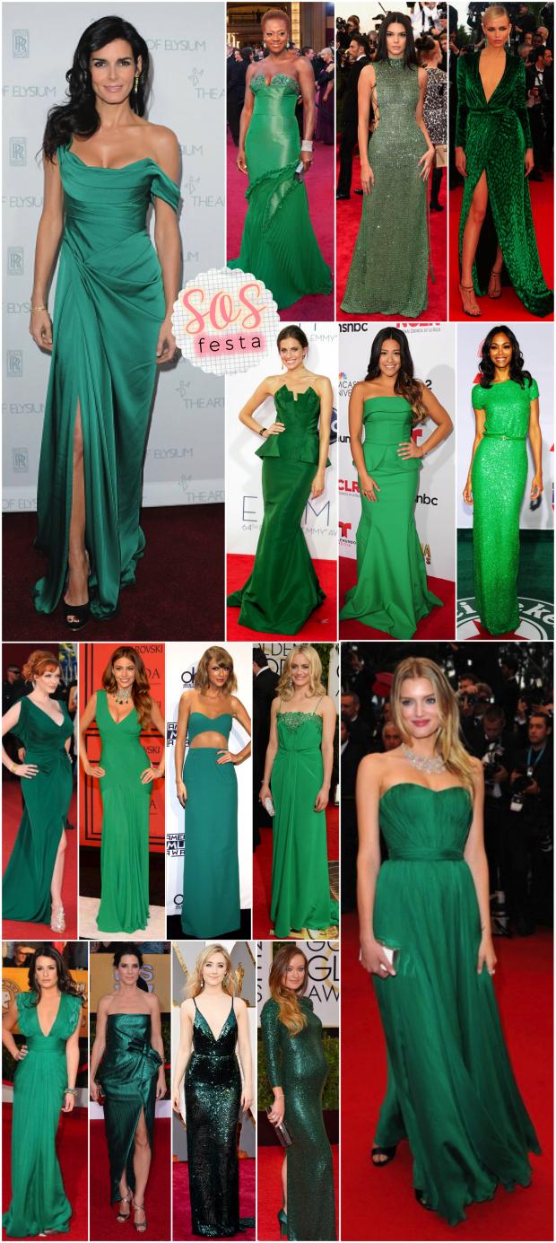 Vestido verde bandeira casual