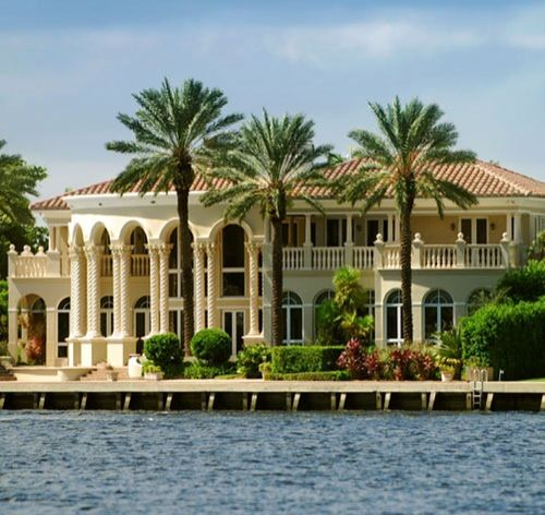 Luxury Mansions In Florida Luxurydotcom Beach Mansion Palm