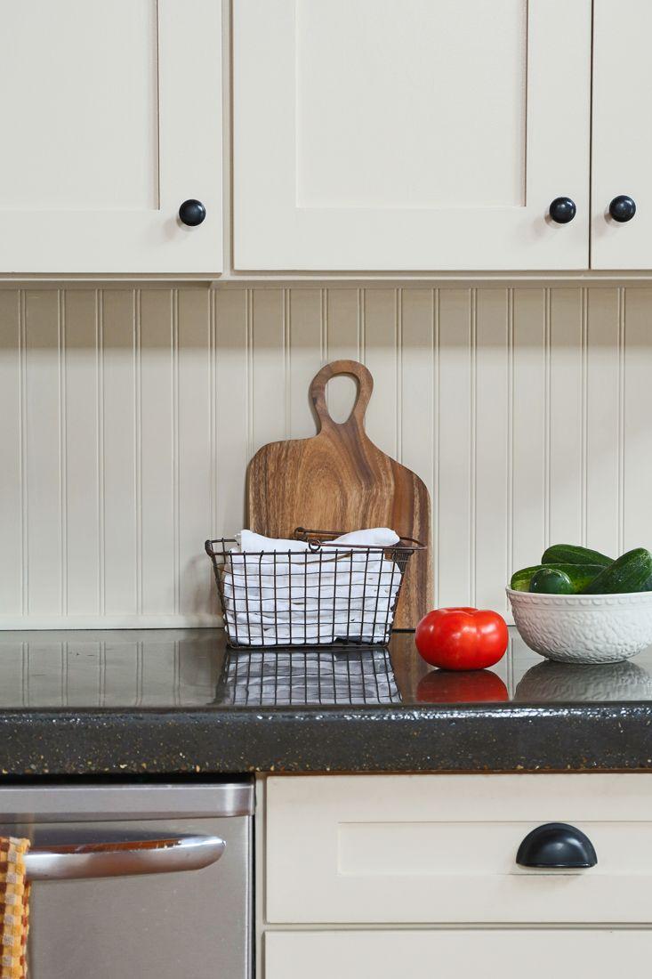 Painted Beadboard Stained Barstools Beadboard Kitchen Kitchen