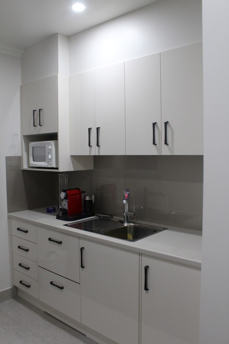 Benchtops laminex platinum micro natural finish panels for Laminex kitchen designs