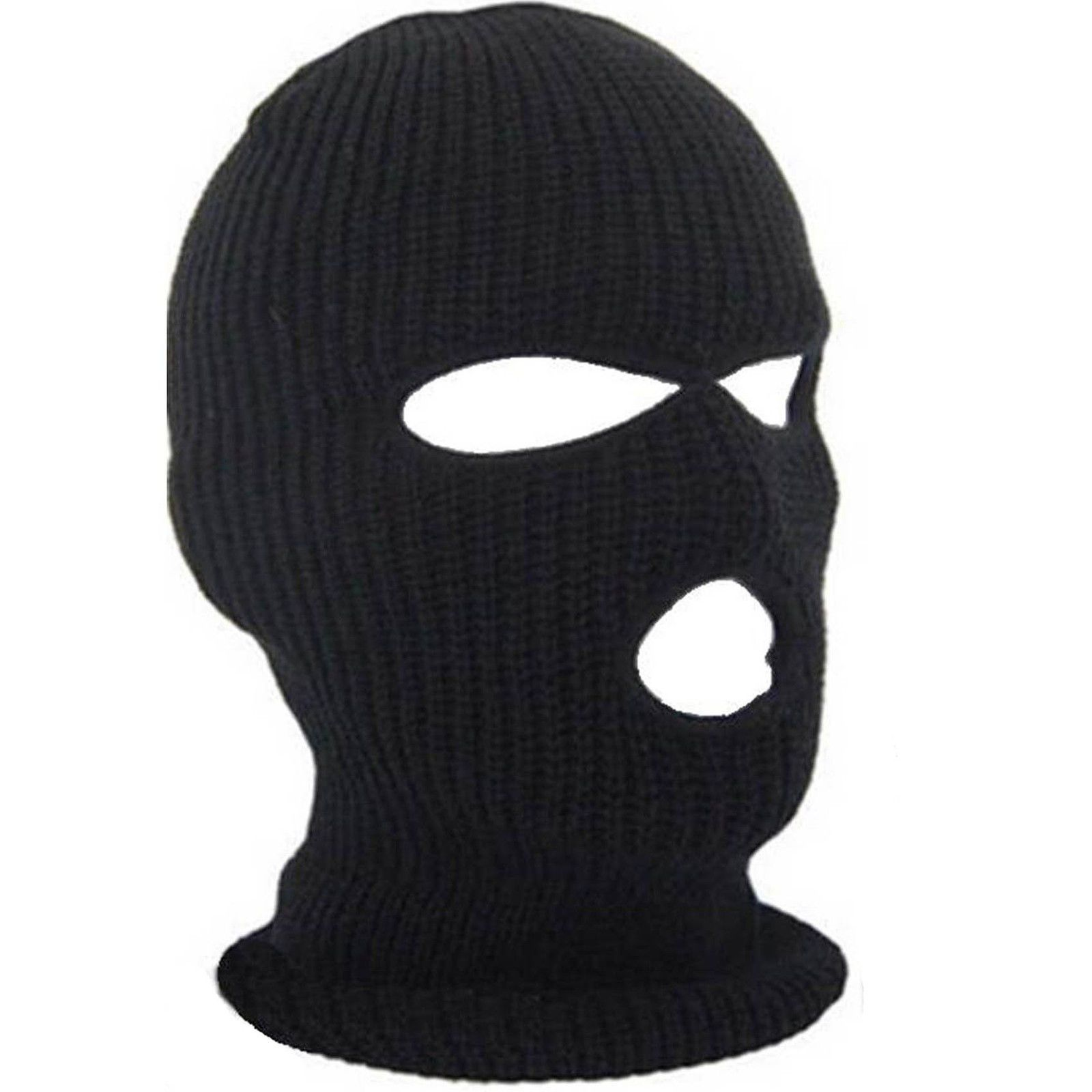 MEN S BOYS ADULTS ARMY S.A.S BLACK WOOLY BALACLAVA SOFT SKI MASK NECK  WARMER HAT in Clothes 70b4211fc1d