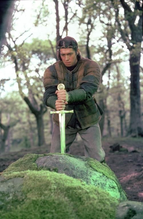 Nigel Terry as Arthur in the quirky film Excalibur. #Sword ...