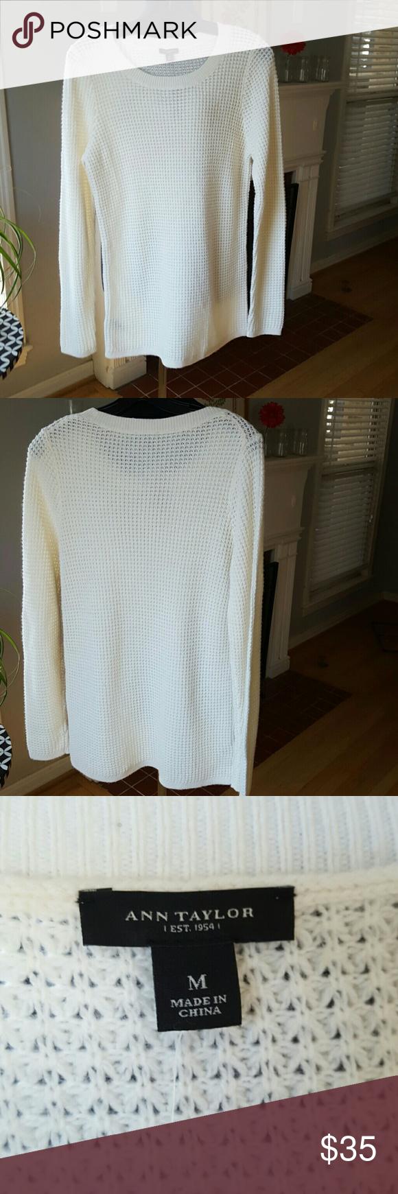 Selling this Ann Taylor Sweater, NWT on Poshmark! My username is: bettyecloset. #shopmycloset #poshmark #fashion #shopping #style #forsale #Ann Taylor #Sweaters