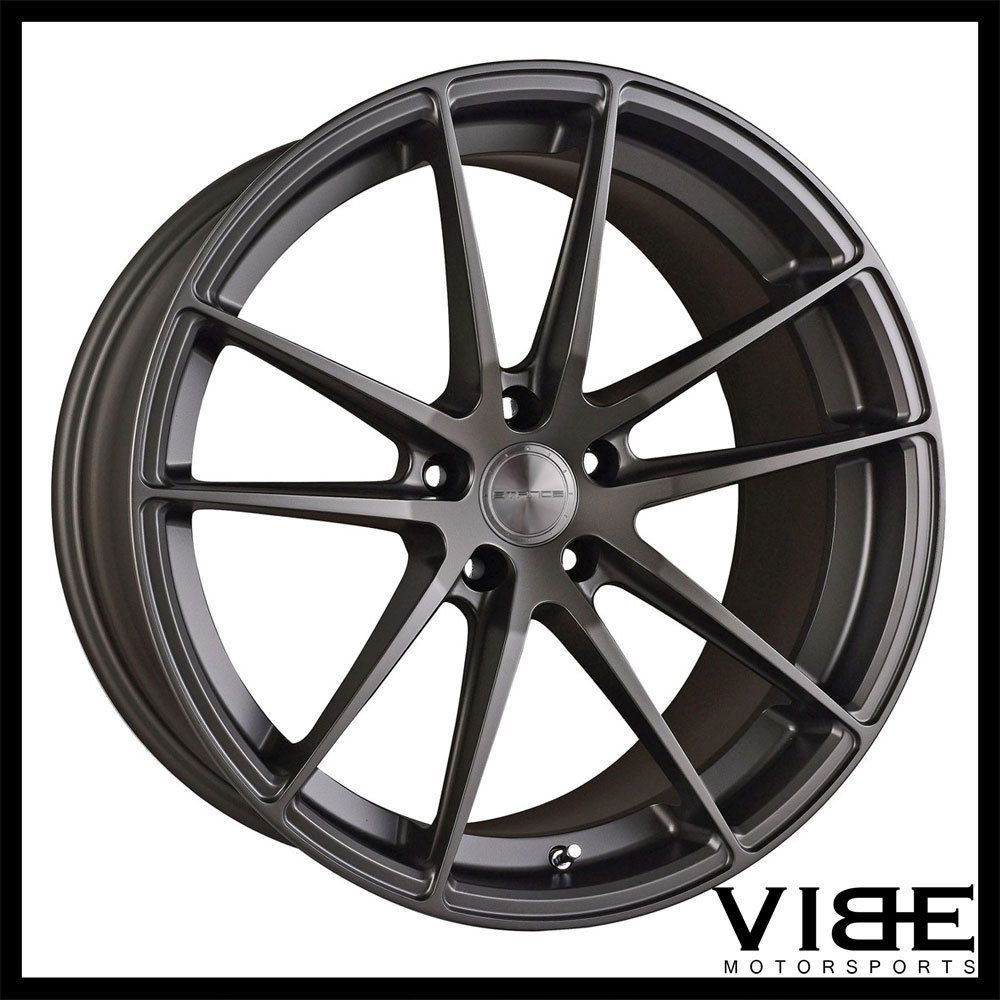 19 stance sc1 grey concave wheels rims fits infiniti g37 g37s coupe stance
