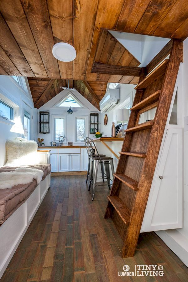 The Best Tiny House Interiors Plans We Could Actually Live In 52 Ideas Tiny Cabins Interiors Best Tiny House Small Cabin Interiors