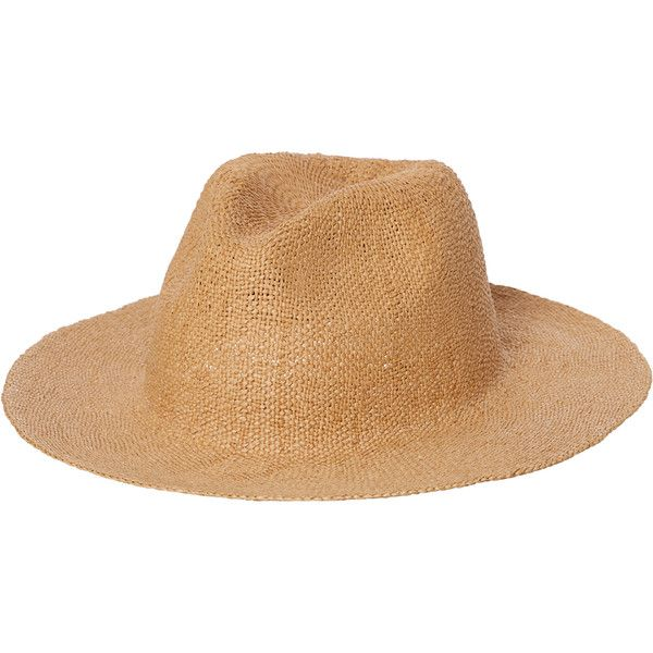 Rusty Deane Crushable Straw Hat Natural 23 Liked On Polyvore Featuring Men S Fashion Men S Accessories Men S Hats For Men Mens Straw Hats Clothes Design