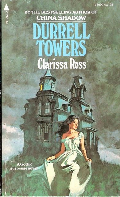 Classic Book Cover Art : Durrell towers gothic romance covers