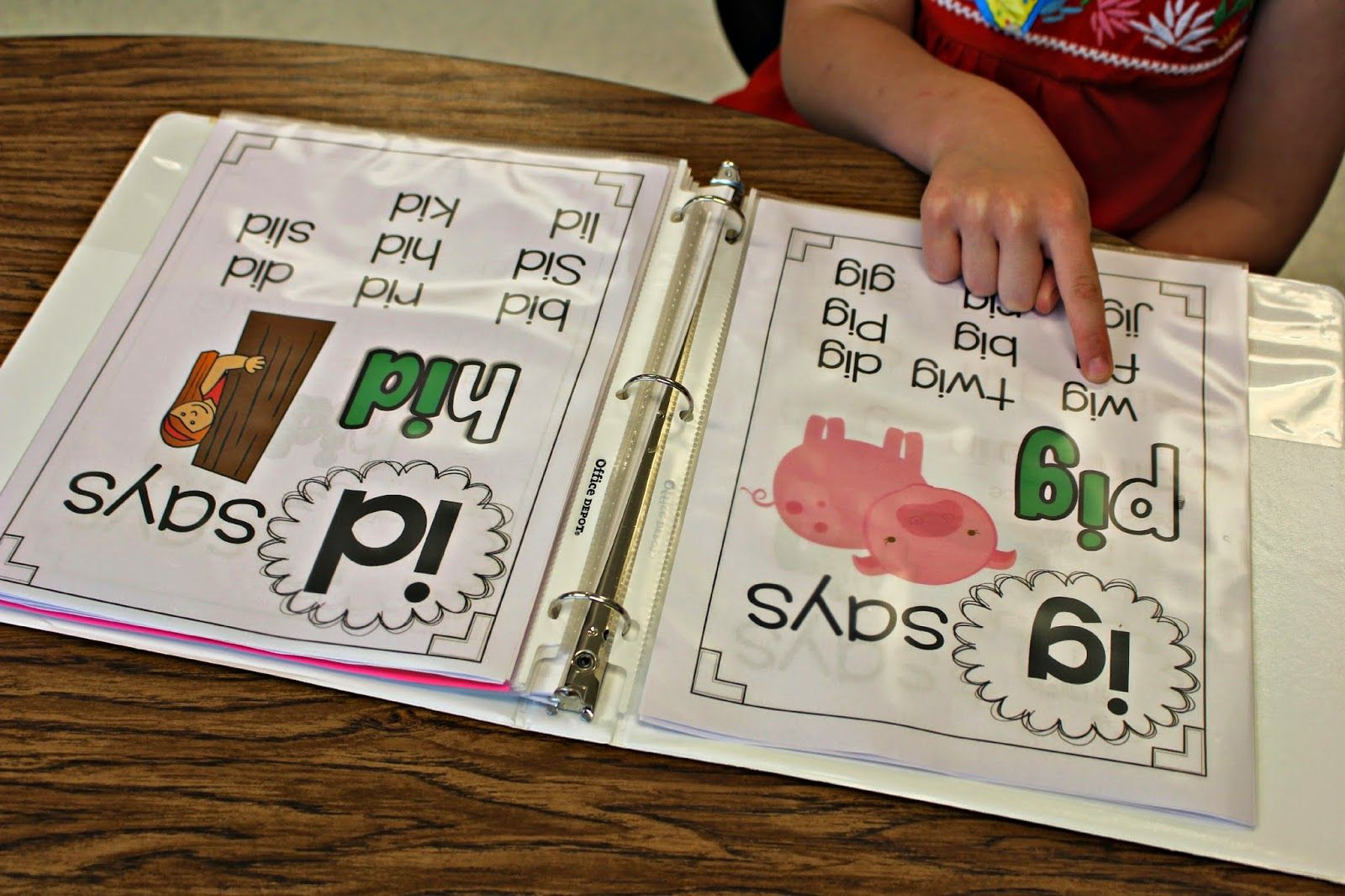 Guided Reading Phonics Posters Short Vowels Word