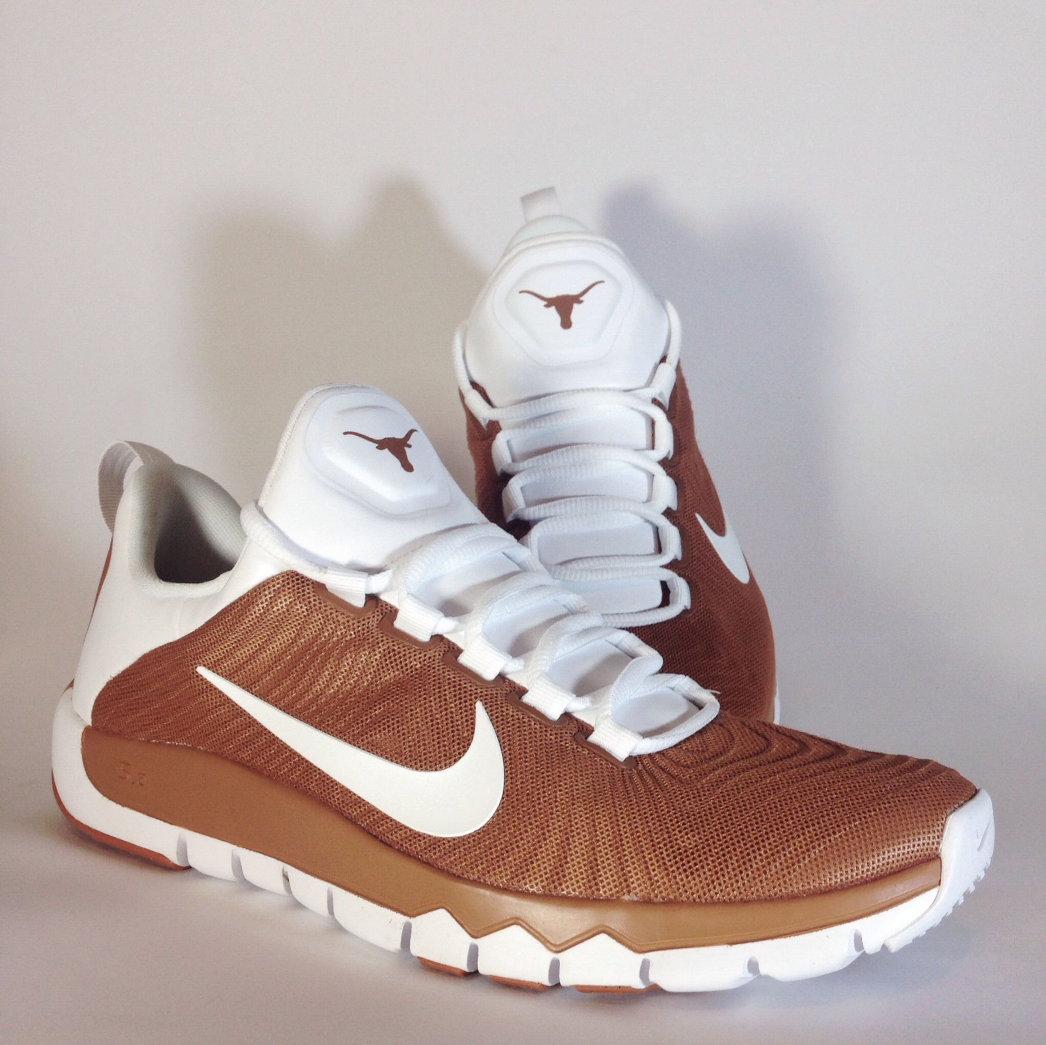 reputable site 80a67 ff295 Texas Longhorns Nike Free Trainer 5.0 TB