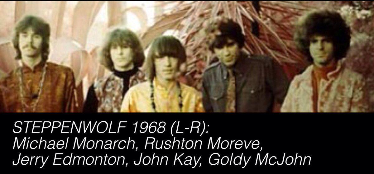 @Riffstory : Feliz 67 cumpleaños a #MichaelMonarch.  Su guitarra se puede escuchar en estos clásicos de #Steppenwolf: http://bit.ly/2tLGI8f