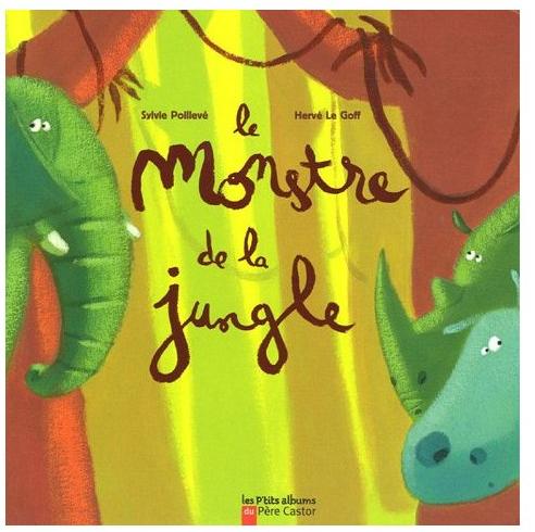 Le monstre de la afrique pinterest - Animaux de la jungle maternelle ...