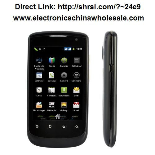 Nightfall - Android 2.3 Smartphone with 3.5 Inch Capacitive Touchscreen ( Dual SIM, WiFi): $156.14  Introducing the Nightfall Android smartphone. Featuring a smooth 3.5 inch capacitive touchscreen, dual SIM card slots, 5MP camera, and the efficiency  (Your all-inclusive cloud phone system)