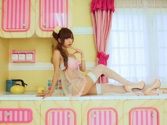 甜美性感《天使梨櫻》腿這麼長真的太犯規了啦