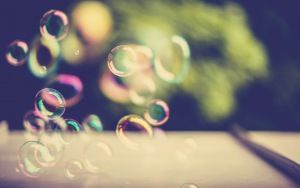 Preview wallpaper blick, bubbles, light, background
