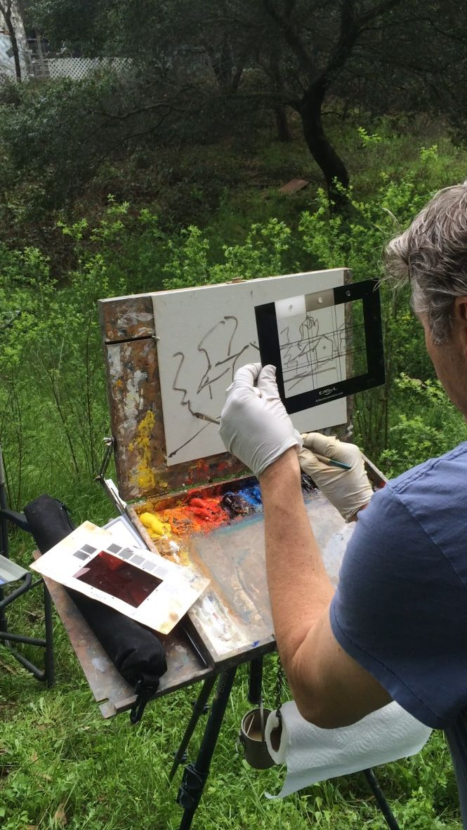Drawing Tool helps with accuracy on your canvas | Art