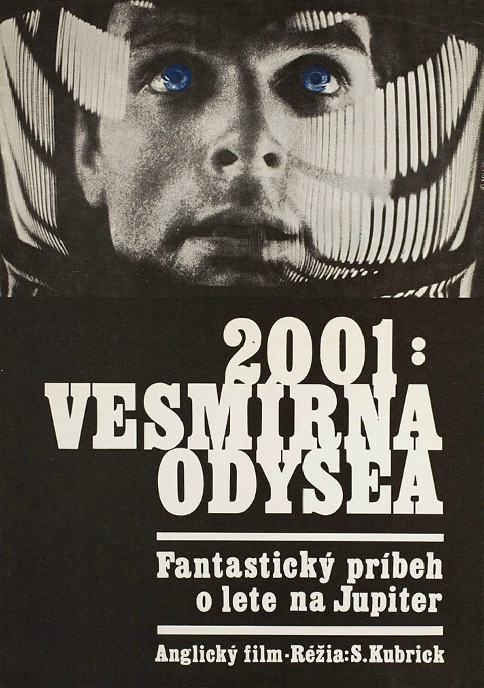 Vintage Czech Movie Posters From The 1970s Space Odyssey Movie