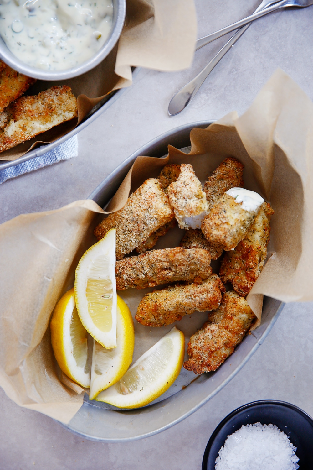 Paleo AirFryer Fish Sticks Lexi's Clean Kitchen