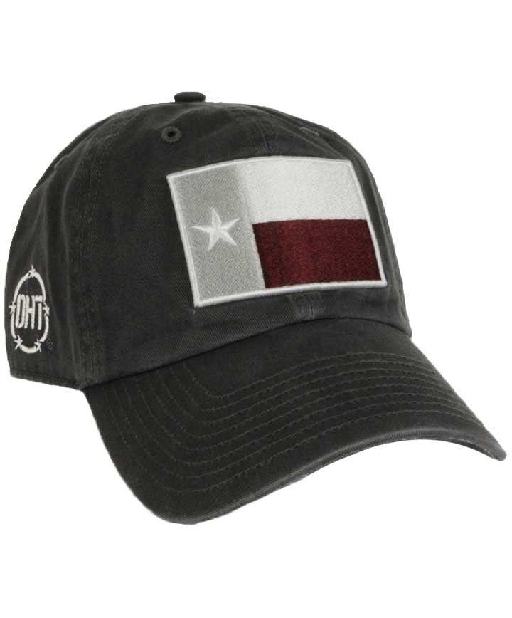 1aea2ce2ac6b6 Texas A M Aggies  47 OHT Charcoal Texas Flag Clean Up Cap - OPERATION HAT  TRICK