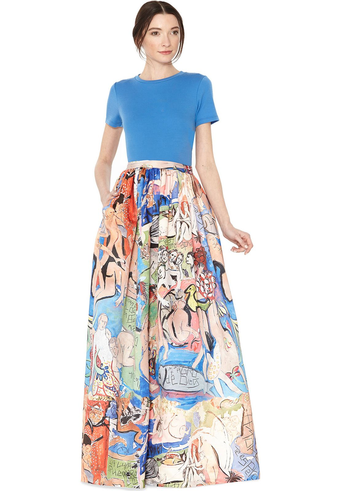 TINA LONG BALL GOWN SKIRT by Alice + Olivia | Style | Pinterest ...