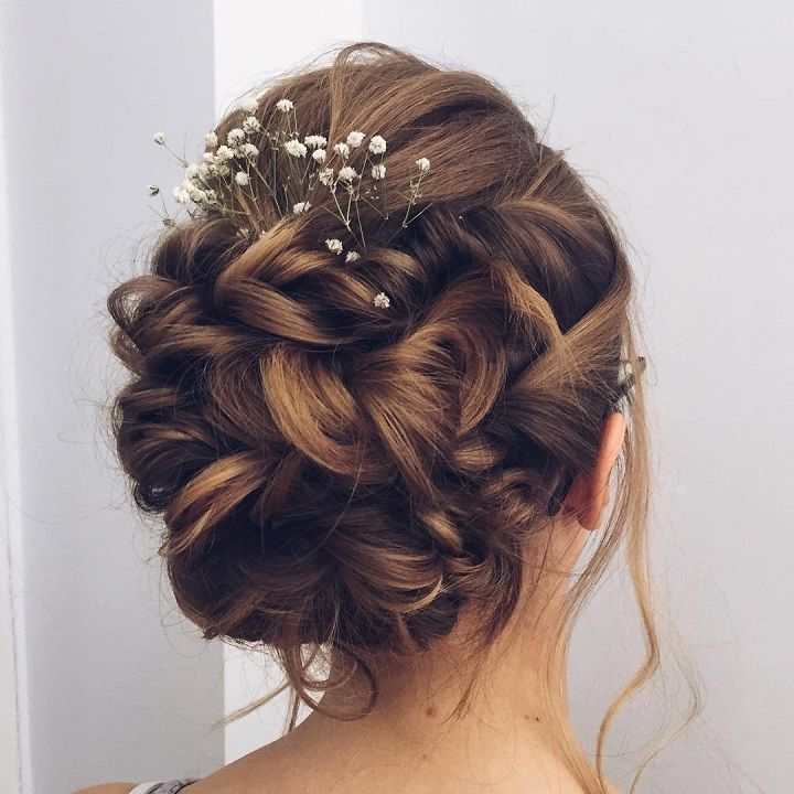 Beautiful Updo Wedding Hairstyle To Inspire You: This Beautiful Updo Wedding Hairstyle Idea You'll Love