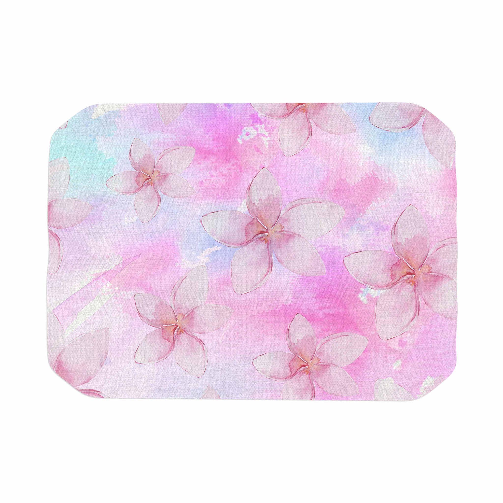 Color Palettes Sylvia Cook Pastel Plumerias Pink Purple Digital