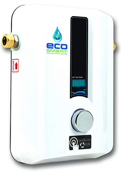 Ecosmart Eco 11 Electric Tankless Water Heater For Home Tiny House Save Up To 60 Percent On Your Water Heating Cost With An Water Heater Water Heating Heater