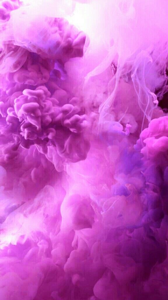 Pink Haze Ios 11 Wallpaper Live Wallpaper Iphone Smoke Painting