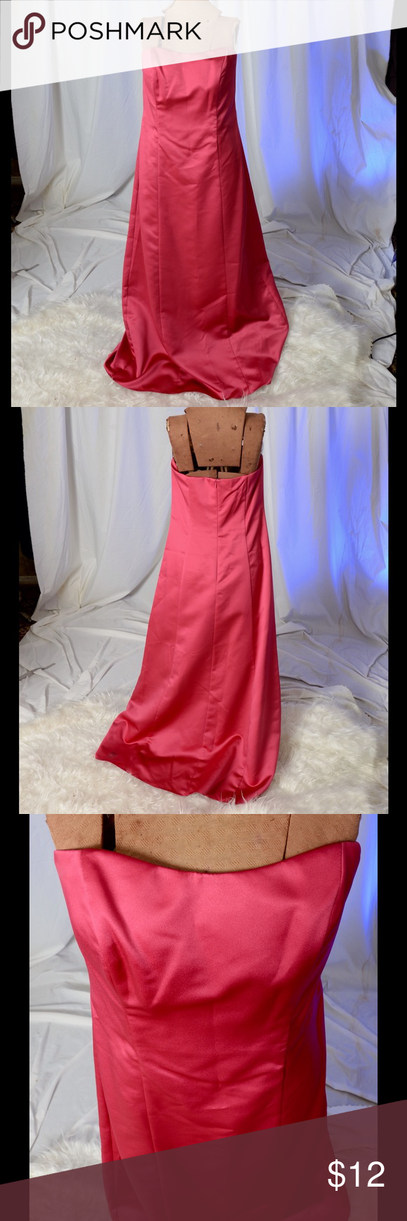 Red long formal dress conditioner prom and dress prom