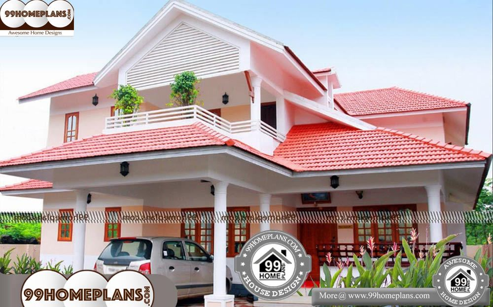 Floor Plan Double Storey House 2 Story 2020 Sqft Home Double Storey House House Plans With Photos Kerala House Design