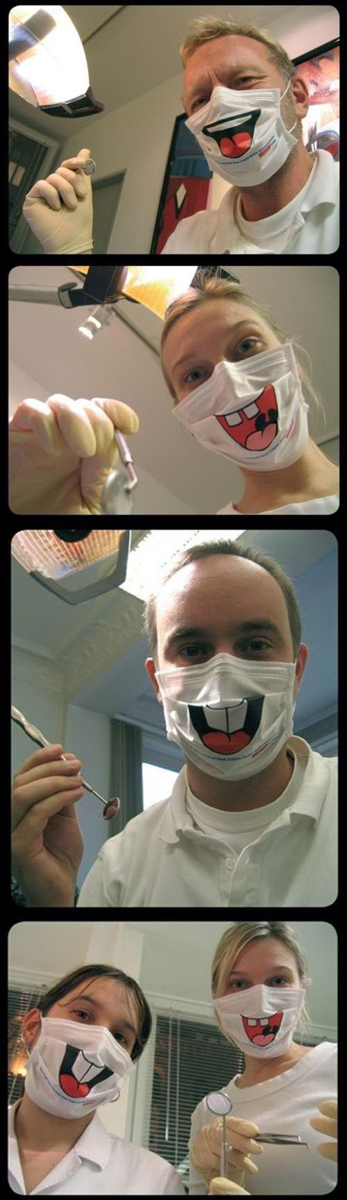 Dentists Smile Face Masks, Click the link to view todays