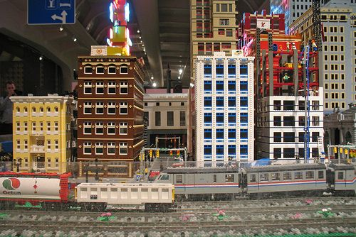 The MichLTC display runs from November 2009 to January 2010 in conjunction  with the LEGO Castle Adventure exhibit at The Henry Ford.