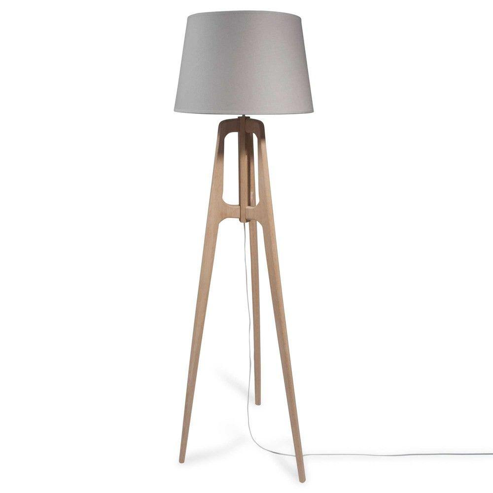 Floor Tripod Lamps Wooden Tripod Floor Lamp Floor Lamp