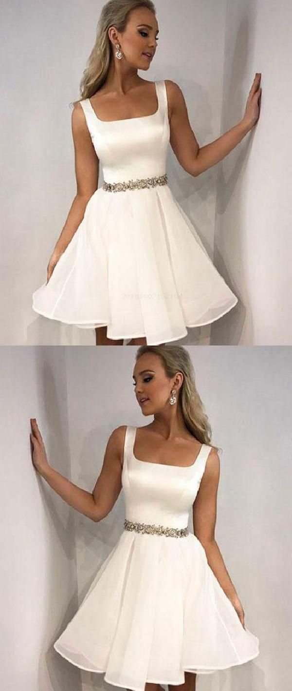 Customized Vogue Simple Homecoming Dress Short Prom Dress