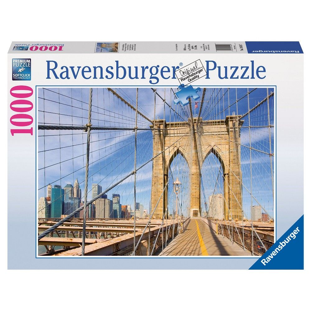 Ravensburger View from the Brooklyn Bridge Puzzle - 1000 Pieces