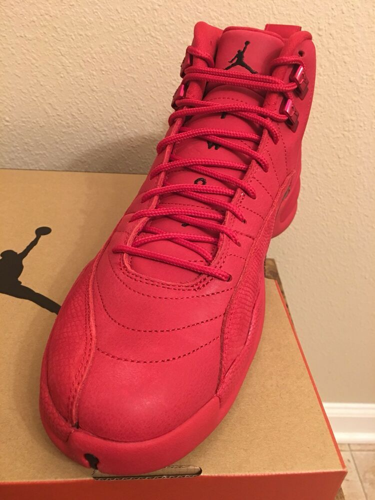 0fd1fc35b6e New price!!Air Jordan 12 Retro Bulls (GYM RED) 130690 601 BLACK Nike Size 12  #shoes #kicks #fashion