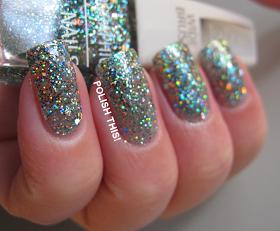 holographic nail polish isadora