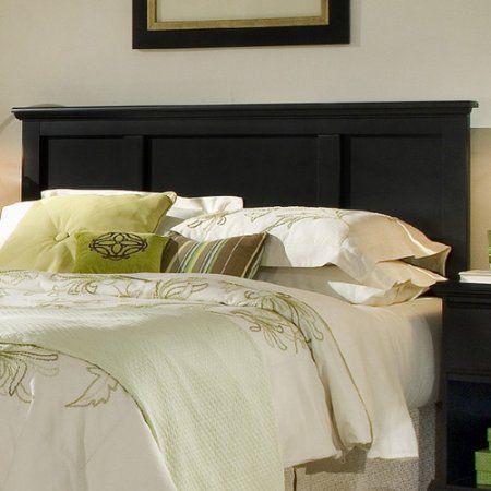 Carolina Furniture Works, Inc. Midnight Wood Headboard   Walmart.com